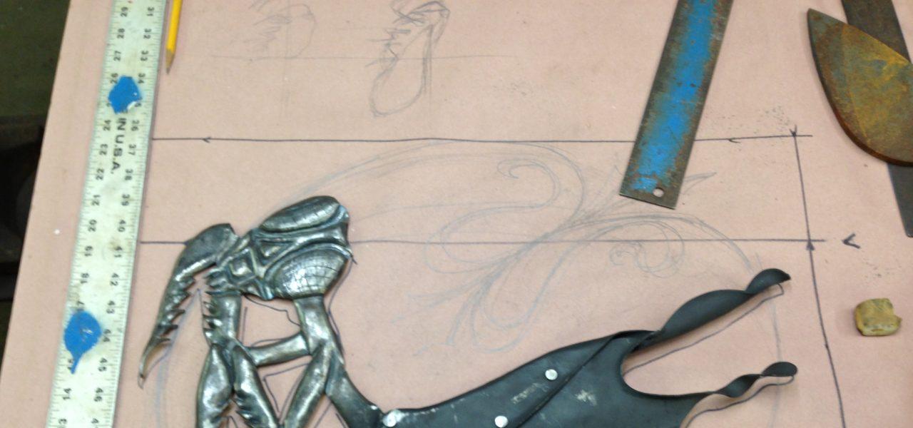 Work In Progress - Metal Mantis - Colby Brinkman