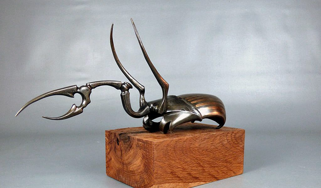 Bronze Stag Beetle - Metal Mantis - Colby Brinkman