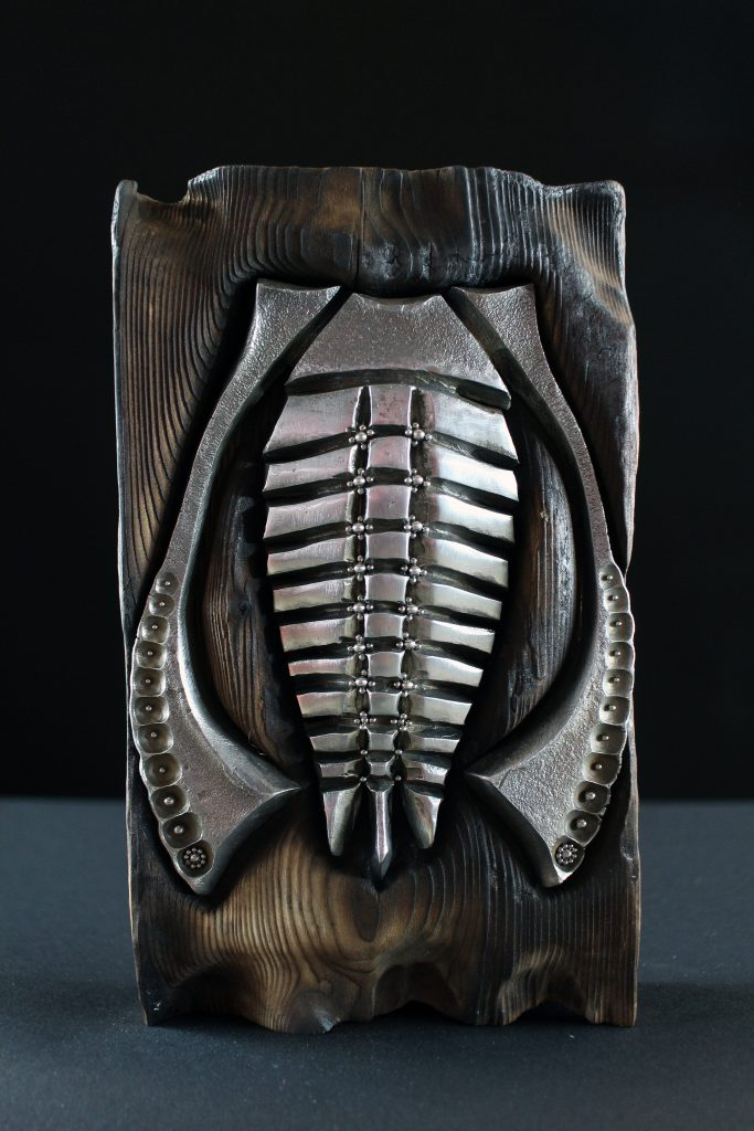 Grainulated Trilobite - Metal Mantis - Colby Brinkman